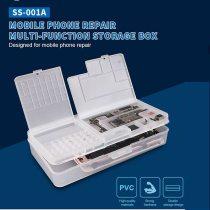 SS-001A Multi-function Magic Box Mobile Phone LCD Screen Mainboard IC Parts Repair Plastic Storage Box