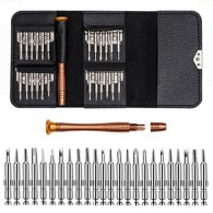 Leather Case 25 In 1 Precision Torx Screwdriver Set Mobile Phone Repair Tool Kit Multitool Hand Tools For Iphone Watch Tablet PC