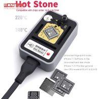 QIANLI Hot Stone Constant Temperature Fixture for IPHONE 7-11 Pro Max NAND CPU Fingerprint CHIP Welding Platform Delete Glue