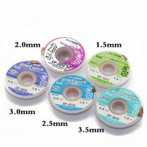 100FIX High Quality GOOT Desoldering Wick with Braided Copper Wire 2015 1515 3015 3515 2515