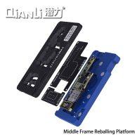 QianLi Middle Frame Reballing Platform Motherboard Fixture BGA Reballing Stencil Tin Planting Table for iPhone X XS MAX 11 Pro