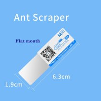 MA-Ant Scraper Knife Stainless Steel BGA Paver Thermal Grease Paste Open Repair Tool For Mobile Phone Electronic Broken Screen