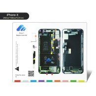 New Professional Guide Pad for iPhone Xsmax xr X 8P 8 7P 7 6S 6SP 6  Magnetic Screw Keeper Chart Mat Mobile Phone Repair Tools