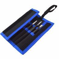 Original 9PCS ESD Stainless Steel Tweezers Kit Precision Anti-static Maintenance Tools for Electronics Jewelry Phone Repairing