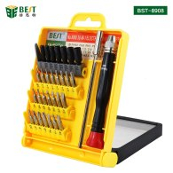 BST-8908 multi-function magnetic precision screwdriver set mobile phone industrial household