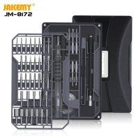 Jakemy JM-8172 Multifunction Screwdriver Repair Tool Set with S2 Magnetic Driver Bits for Home DIY Improvement for phone repair