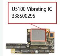 Vibrating Driver IC U5100 Replacement Chip for iPhone 8/8 Plus/X #338S00295 (OEM NEW)(MOQ:5PCS)