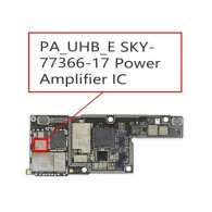 Power Amplifier IC (PA_UHB_E) Replacement Chip for iPhone 8/8 Plus/X #SKY77366-17 (OEM NEW)(MOQ:5PCS)