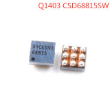 New Original Q1403 68815 For iPhone 6/ 6 plus CSD68815W15 USB charger 5S Q4 charging chip 9 pins power supply IC