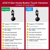 JC 6th 3D Universal Touch Home Button Fingerprint Flex Cable For IPhone 7 7P 8 8P Menu Keypad Return On Off Function Solution