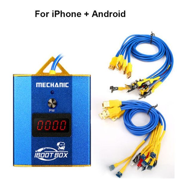 MECHANIC iBoot Box Power supply cable For iphone 6 6P 6s 6sP 7 7P 8 8p x xs xsmax/11 pro 12 pro max  Samsung  /Android  Battery power supply line