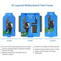 JC Logic Board Layed Testing Fixture  motherboard layered test stand  for iphone x xs motherboard repair tool