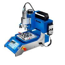 JC EM01 Intelligent  BGA Chip  Grinding Machine  CPU NAND Flash IC Chips Grinding Remove Tool for Phone Motherboard Repair