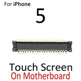 Touch LCD Display FPC Connector For iPhone 5 5G SE 5S 5C 6G 6 Plus Display Board Connector On Motherboard Mainboard Flex Cable