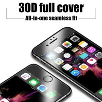30D Full Coverage Cover Tempered Glass For iPhone SE 2020 7 8 6s 6 Plus X XS 11 Pro Max For iPhone XR Soft edge Screen Glass Film