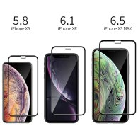 9D Tempered Glass For iPhone 11 12 Mini Pro Max Screen Protector For iPhone X Xr Xs Max 6 6S 6P 7 8 Plus SE2020 Full Cover Glass