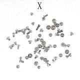 Full Sets Screws for iPhone 6 6plus 7 7plus 8 8plus X XR XS XSMAX 5S 5 Mobile Accessories Screws Kit Replacement