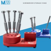 Ma-Ant New Multi-function Screwdriver Holder Tool For Mobile Phone Repair Storage Component/Finishing Parts Desktop Storage Rack
