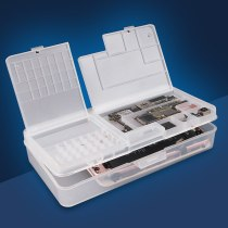 SUNSHINE SS-001A Storage Box Multi-function Phone LCD Screen Motherboard IC Chips Parts Organizer Phone Repair Storage Box