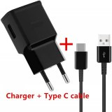 Fast Charging Charger For Samsung A51 A71 A70 A50 A50s A20 A30s A40 S8 S9 S10 S20 S21 Note 8 9 10 Type C USB Quick Charger Cable