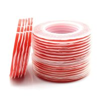 Mobile Phone Maintenance Double Sided Adhesive Tape Traceless Ultra-Thin Transparent Taterproof High Temperature Resistant Red