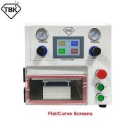 OCA Lamination Machine TBK108P Vacuum Laminating Machine For Fat Curved Straight Tablet LCD Repair Machine