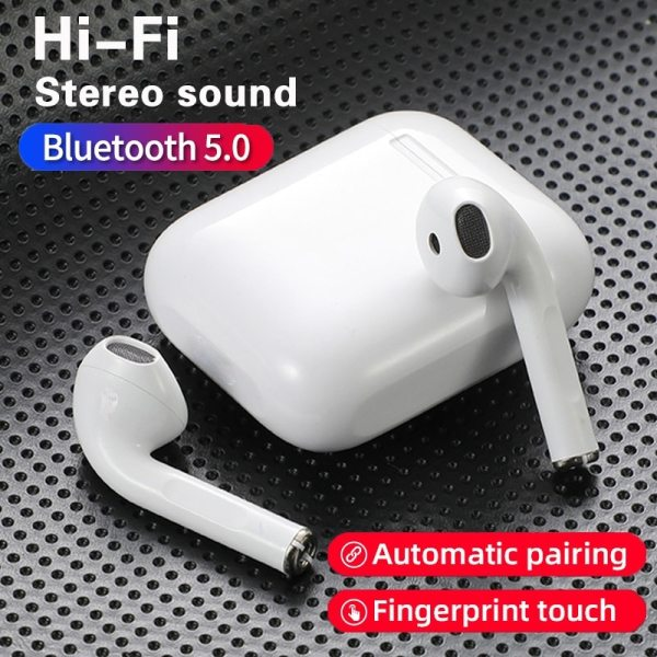 Original i12 tws Stereo Wireless 5.0 Bluetooth Earphone Earbuds Headset With Charging Box For iPhone Android Xiaomi smartphones