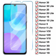 9D Full Protective Glass For Huawei Honor 30 20 10 Lite V30 V20 V10 Tempered Glass Honor 9 8 Lite 30i 20i 10i Screen Protector