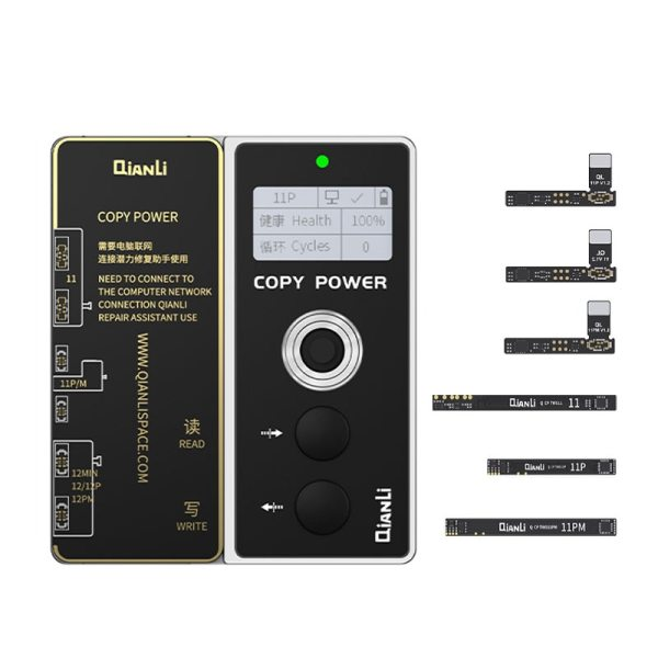 Qianli Copy Power Battery Data Corrector For iPhone 11/11 Pro/11 ProMax Repair Battery Cycle/Health/Encryption and Reset battery