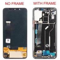 Original Parts for XiaoMi Mi 8 Screen Mi8 Display Touch Digitizer with Frame Fingerprint Edition 6.21 AMOLED LCD Replacement