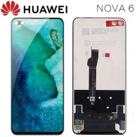 For Huawei Honor V30 LCD Display Touch Screen Digitizer AN00 View 30 Assembly Replacement For Huawei Nova 6 LCD