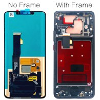 for Huawei Mate 20 Pro LCD Touch Screen LYA-L29 Digitizer Assembly Original 6.39'' Display with frame fingerprint Replacement