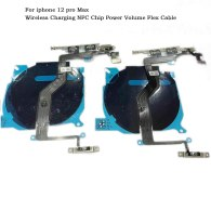 For iPhone 12 A2172 12 Pro A2341 12 Pro Max Wireless Charging NFC Chip Power Volume Flex Cable