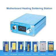 SUNSHINE SS-T12 Heating Soldering Station for Android IPhone Face ID CPU IC Chips Disassembly Motherboard Kit Repair Tools