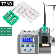 SUGON T26D Soldering Station Lead-Free 2S Rapid Heating Support  JBC Iron Tips Handle Universal 80W Power Repair Tool Kit