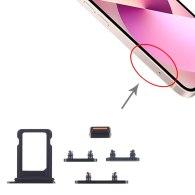 for iPhone 13 Mini 13 Pro Max SIm Card Tray + Side Keys
