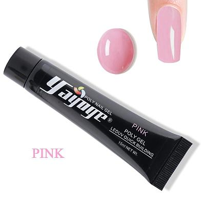 7 Colors Pinky Tender Love Poly Gel P15(15ml)