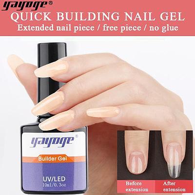 Dark Pink 4 Colors UV LED Builder Liquid Gel BG-04