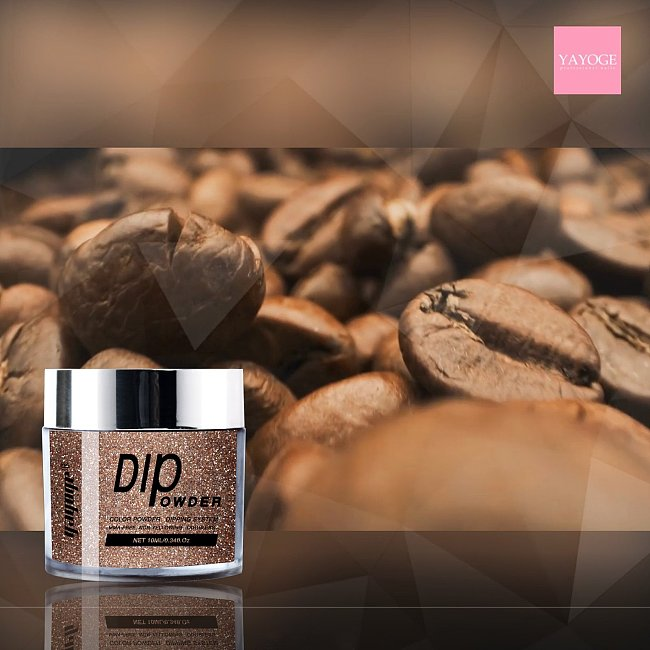 New Coffee Color Nail Magic Coffee Bean Dip Powder