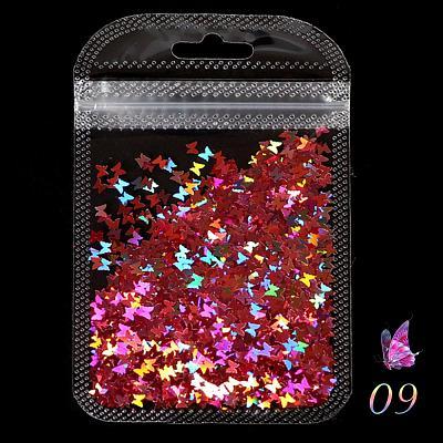 Pailettes PET Ultrathin Butterfly Sequin HDLP(8g)