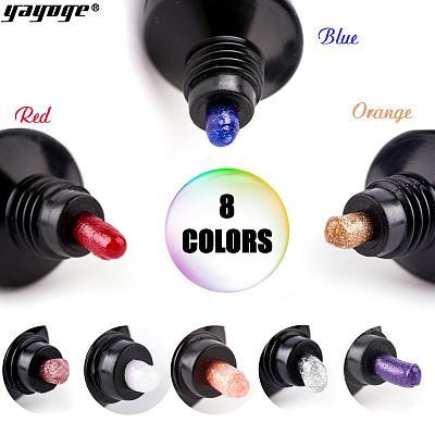 UK WAREHOUSE 8 Colors Glitter Poly Gel Kit P17-A2-8P(30ml)