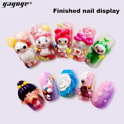 12 Colors Sculpture Nail Gel 3D Carved DH