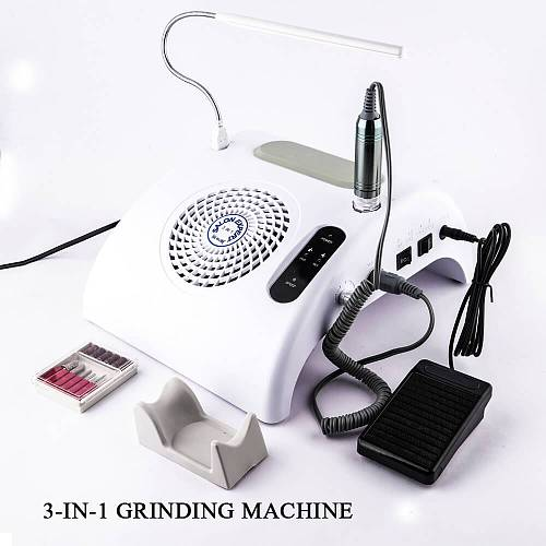 3 IN 1 Electric Nail Drill Machine B12