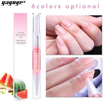 8 Oders Nail Cuticle Revitalizer Nutrition Oil Pen(6ml)