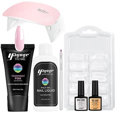 3 Basic Colors Poly Gel Set P16-S7(30ml)