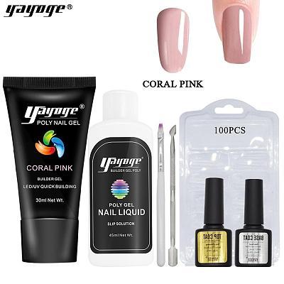 BE WAREHOUSE 7 Basic Colors Poly Gel Set P26-S3-7P(30ml)