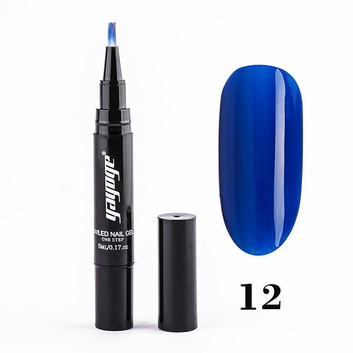 39 Colors Gel Nail Polish Pen UV LED One Step Gel No Need Base Top Coat