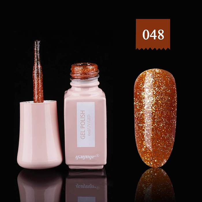 60 Colors UV LED Soak Off Gel Nail Polish(6ml)