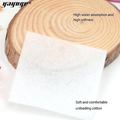 300/600/900 Pcs Lint Free Nail Wipe Cotton Gel Polish Unloading Cotton
