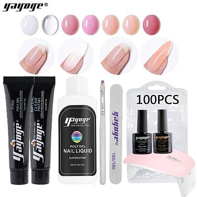 US WAREHOUSE 7 Basic Colors Poly Gel Set P15-S1-1(15ml)